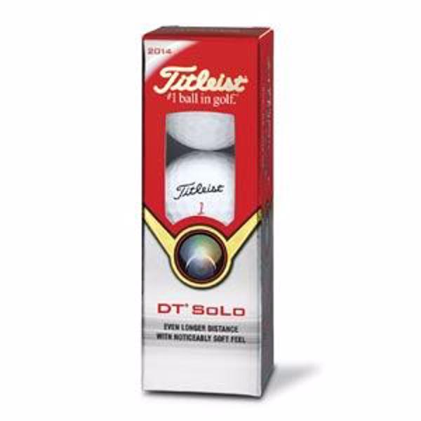 Afbeelding van Golfbal Titleist DT Solo (12 stuks)